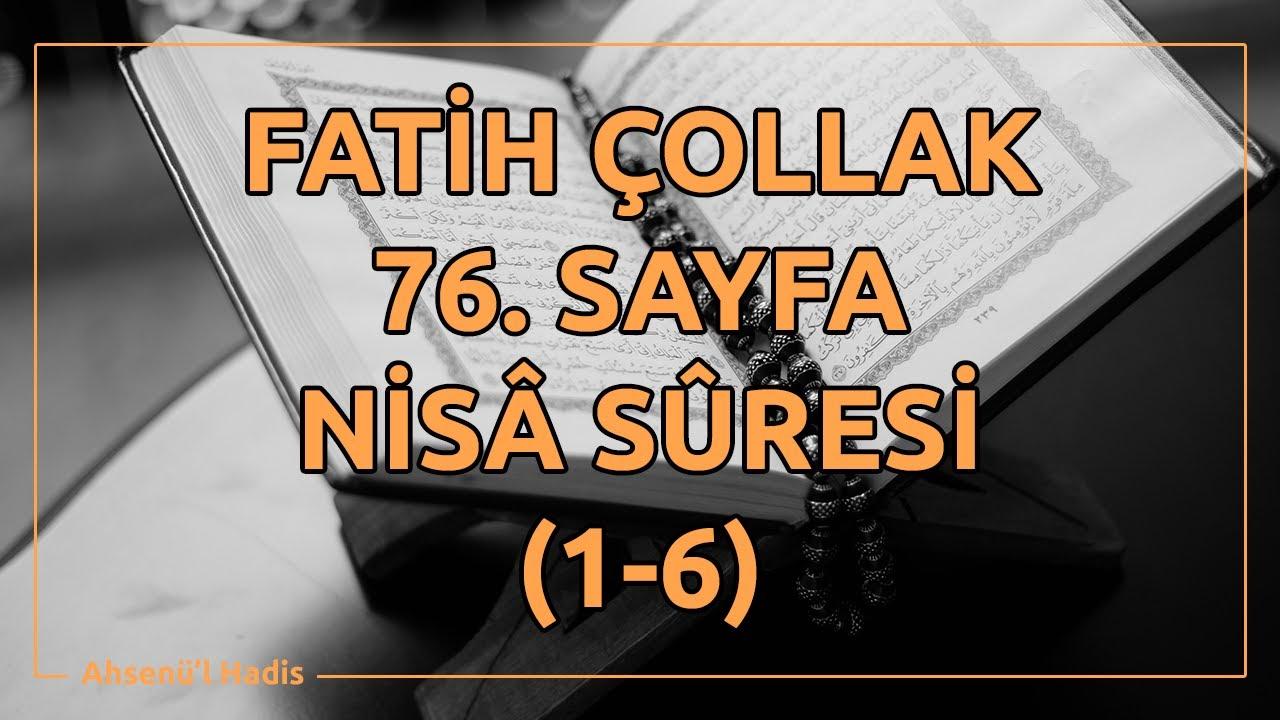 Fatih Çollak - 461.Sayfa - Zümer Suresi (32-40)
