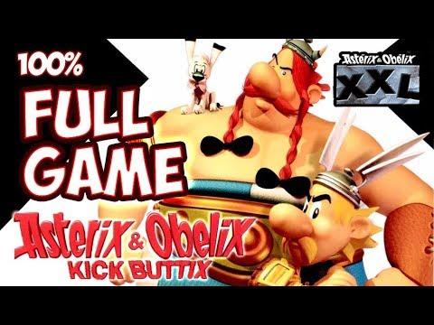 Download Asterix & Obelix XXL / Kick Buttix FULL GAME 100% Walkthrough Longplay (PC, PS2, Gamecube)