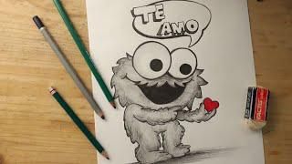 Dibujo tierno de amor
