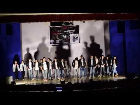 AIT CHOREO || DANCE PERFORMANCE DURING NAAC VISIT 2016