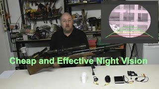 Homemade Night Vision Rifle Scope - Inexpensive!