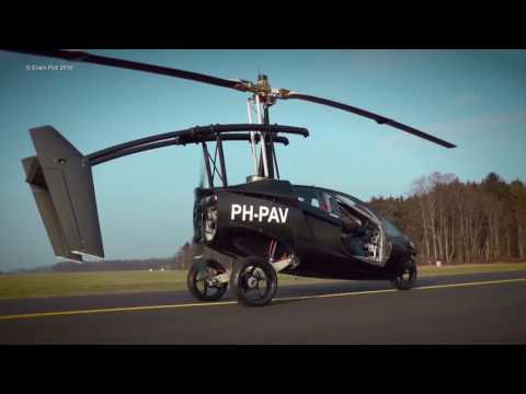 Flying Car PAL-V One Teuge Airport holland 2016