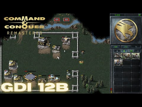 Command & Conquer Remastered - GDI Mission 12B - SAVING DOCTOR MOBIUS BULGARIA (Hard) |