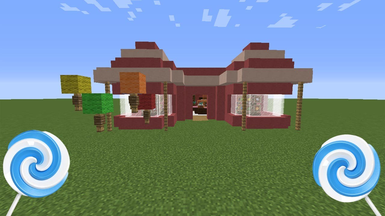 How To Build Sweets In Minecraft