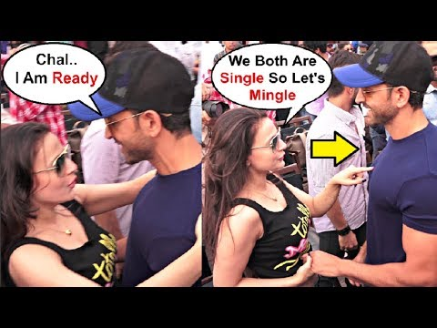 Hrithik Roshan And Ameesha Patel Flirting With Each Other After 20 Year Of Kaho Na Pyaar Hai