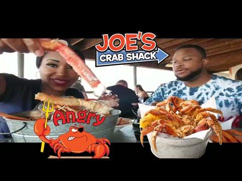 Seafood Boil At Joe's Crab Shack In Cincinnati Ohio/King Crab/Snow Crab/Shrimp ⚠Smacking/Messiness/