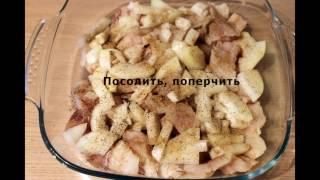 Видео рецепт как приготовить минтай в духовке #минтай