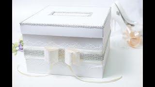 Свадебная коробочка для денежных подарков мастер-класс