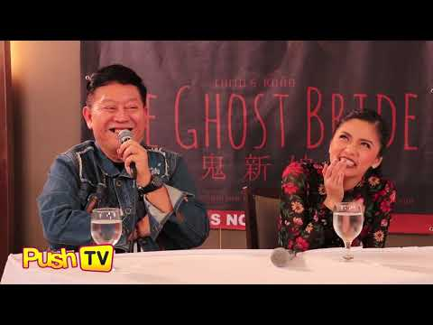 """Push TV: Chito Rono reveals that Kim Chiu was really his choice for """"The Ghost Bride"""""""