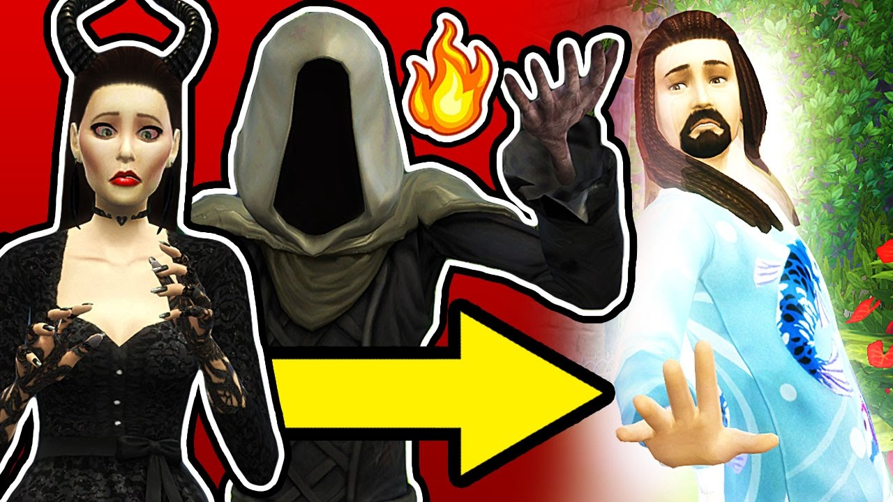 GRIM REAPER BRINGS SIM BACK TO LIFE! // The Sims 4: Maleficent (Part 16) -  YouTube