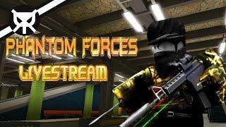 Let's Play Phantom Forces ▼ ROBLOX ▼ Livestream ▼