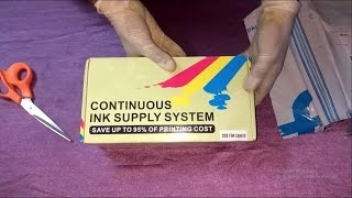 CISS Save 95% of Printing Cost !! Convert any Inkjet Printer Cartridge to Refillable Tank System !!