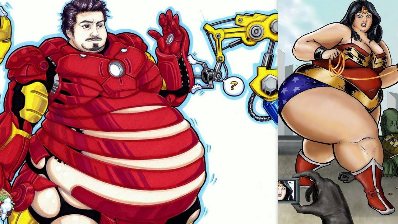 50+ Fat Version Of Your Favorite Superhero To Make You ...