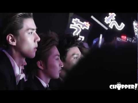 [chopper!]120917 The 5th Mengniu Music Awards HUNHAN focus
