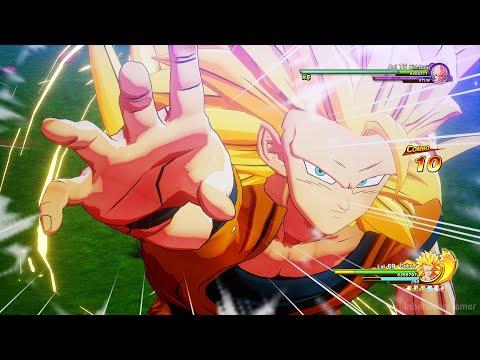 Dragon Ball Z: Kakarot - Universal Battle! Super Saiyan 3 Goku Vs Kid Buu