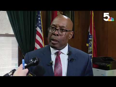 RAW: St. Louis Public Safety Director Addresses Officer Investigation