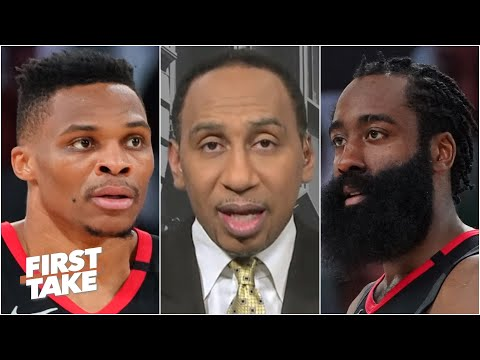 Russell Westbrook doesn't want to play with James Harden anymore - Stephen A. | First Take