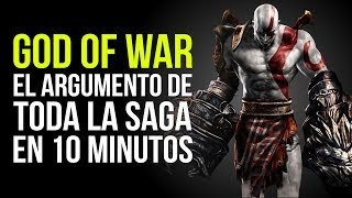GOD OF WAR, el argumento de TODA LA SAGA en 10 MINUTOS