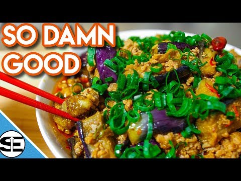 Spicy Eggplant Recipe Chinese Style - You Won't Be Able To Stop Eating This! - Straight Up Eats
