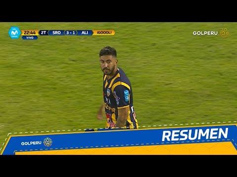 Resumen - Sport Rosario vs Alianza Lima (3-2)