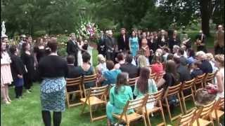 Love Actually Wedding Flash Mob Choir