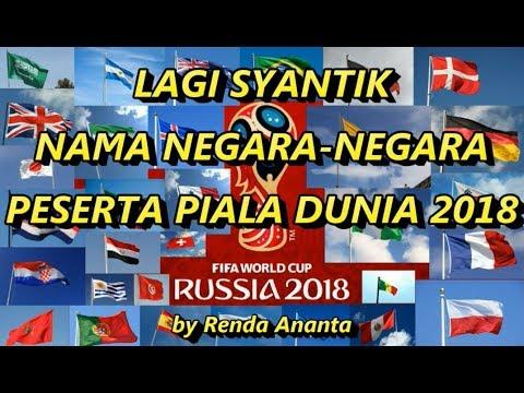 Parody Lagi Syantik Nama Negara-Negara Peserta Piala Dunia 2018