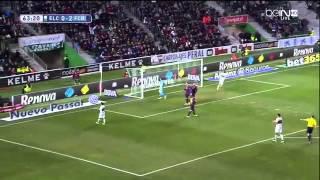 vuclip Elche vs FC Barcelona 0-6 BeinSports Highlights 24.01.2015