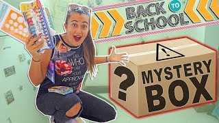 BACK TO SCHOOL MYSTERY BOX!! **150€ di materiale per la SCUOLA** #BackToSchoolConZenick