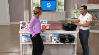 HP ENVY 7640 e-All-in-One Printer w/ Copy Fax, Scan & AirPrint on QVC