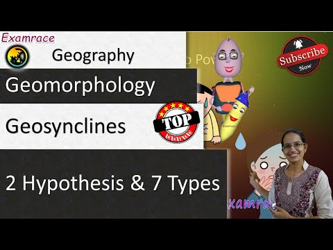 Geosynclines - Formation, 2 Hypothesis & 7 Types