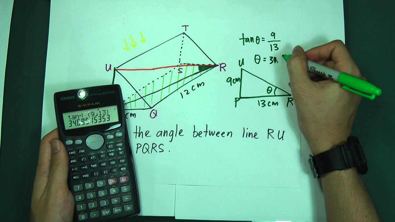 SPM - Maths Form 4 - Line and Plane in 3 Dimension (Fully ...