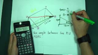 SPM - Maths Form 4 - Line and Plane in 3 Dimension (Fully Cover)