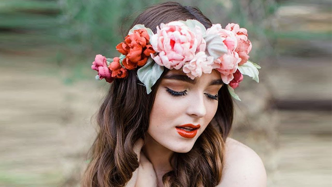 Flower Crown Photo Editor Youtube
