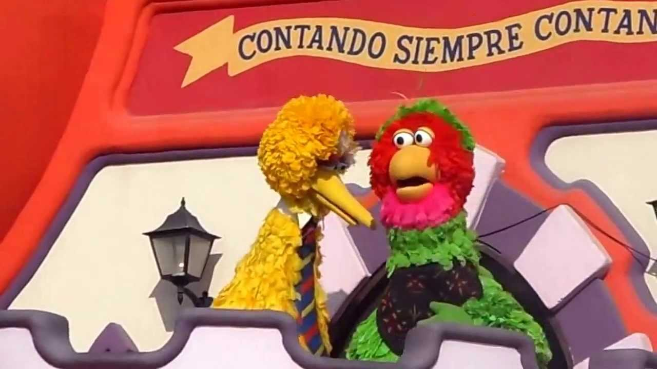Sesame Street 50th Anniversary Cousins Big Bird Abelardo