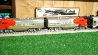 Lionel Electric Trains 2343 Diesel Passenger set 1950 - 1952