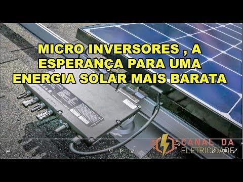 FINALMENTE UMA ENERGIA SOLAR AO ALCANCE DE TODOS - MLPE ( MICRO INVERSORES )