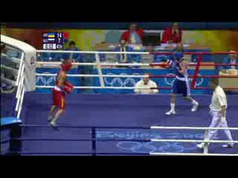 Ukraine vs Russia - Boxing - Featherweight 57KG - Beijing 2008 Summer Olympic Games