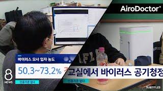 Effectiveness of Window Ventilation vs. Anti-viral Air Purifier - Test Series at School in S. Korea