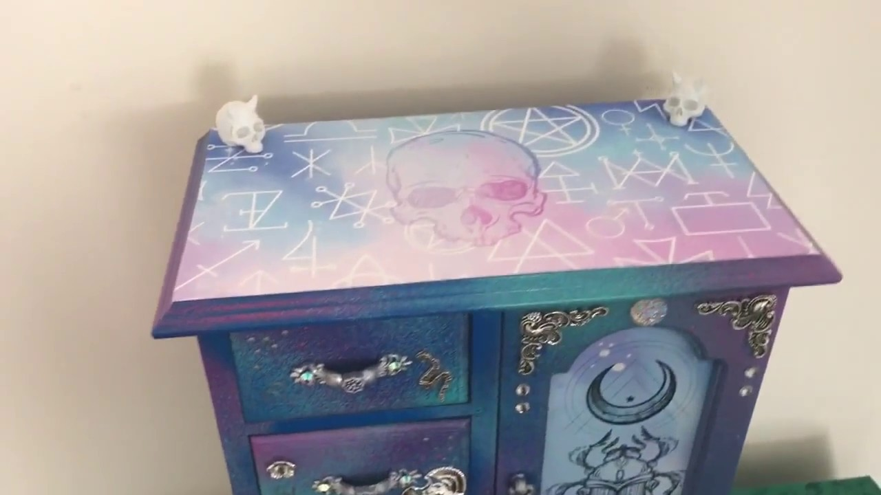 Pastelgoth Jewellery Box by Curiology YouTube