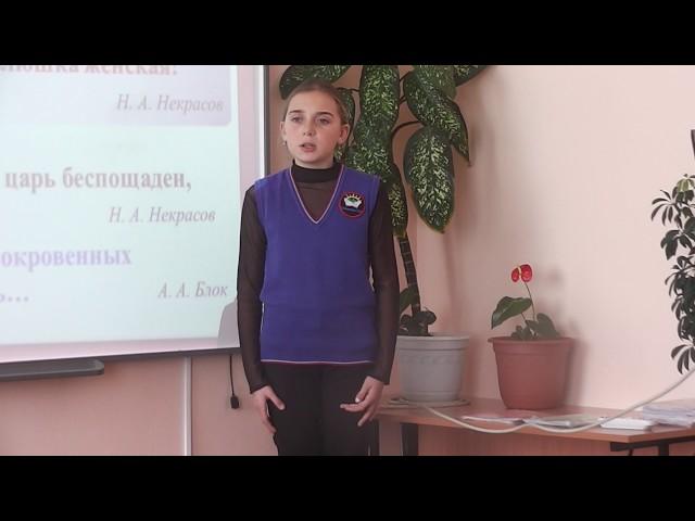 Изображение предпросмотра прочтения – АнжеликаХанжинова читает произведение «Ворона и Лисица» И.А.Крылова