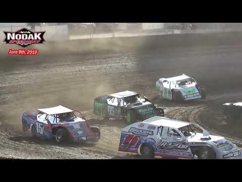 Nodak Speedway IMCA Modified Heats (6/9/19)