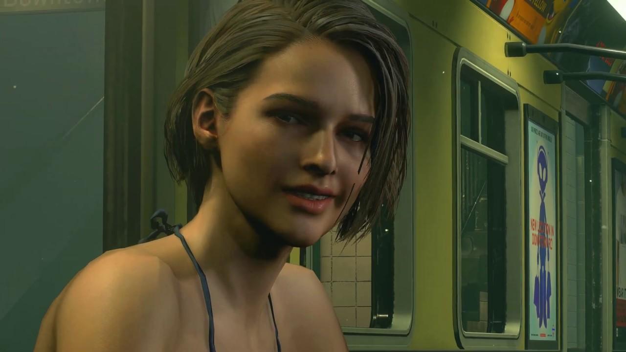 Resident Evil 3 Remake Jill Valentine in Bounded Bikini PC