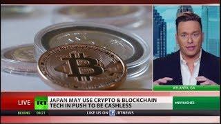 Japan moves toward a cashless society