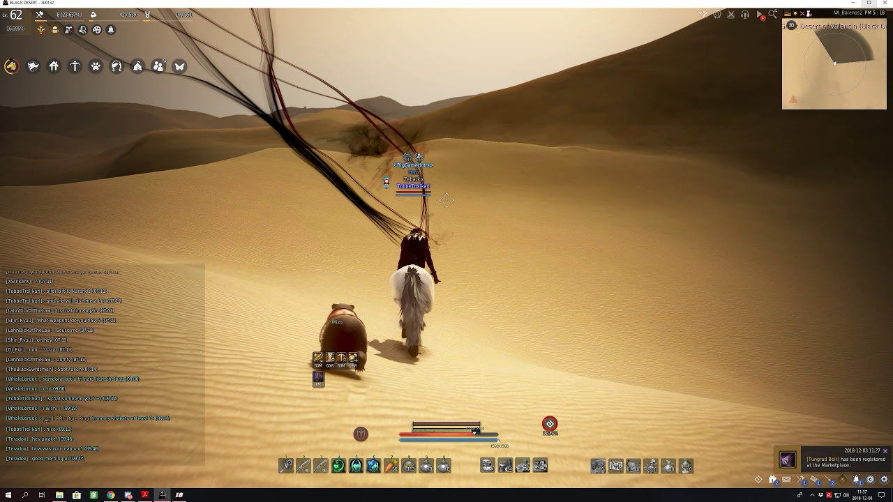 BDO - Active hotspot fishing, triple rods and desert buff