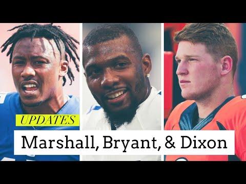 A Few New York Giants Updates Brandon Marshall, Dez Bryant, And Ryan Dixon