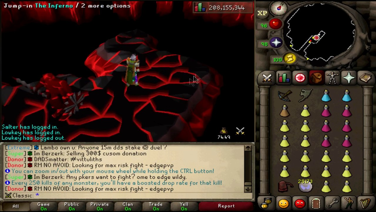 INFERNO CAPE ATTEMPT | CLASSIC EPISODE 8 | ALORA RSPS | 500M GIVEAWAY