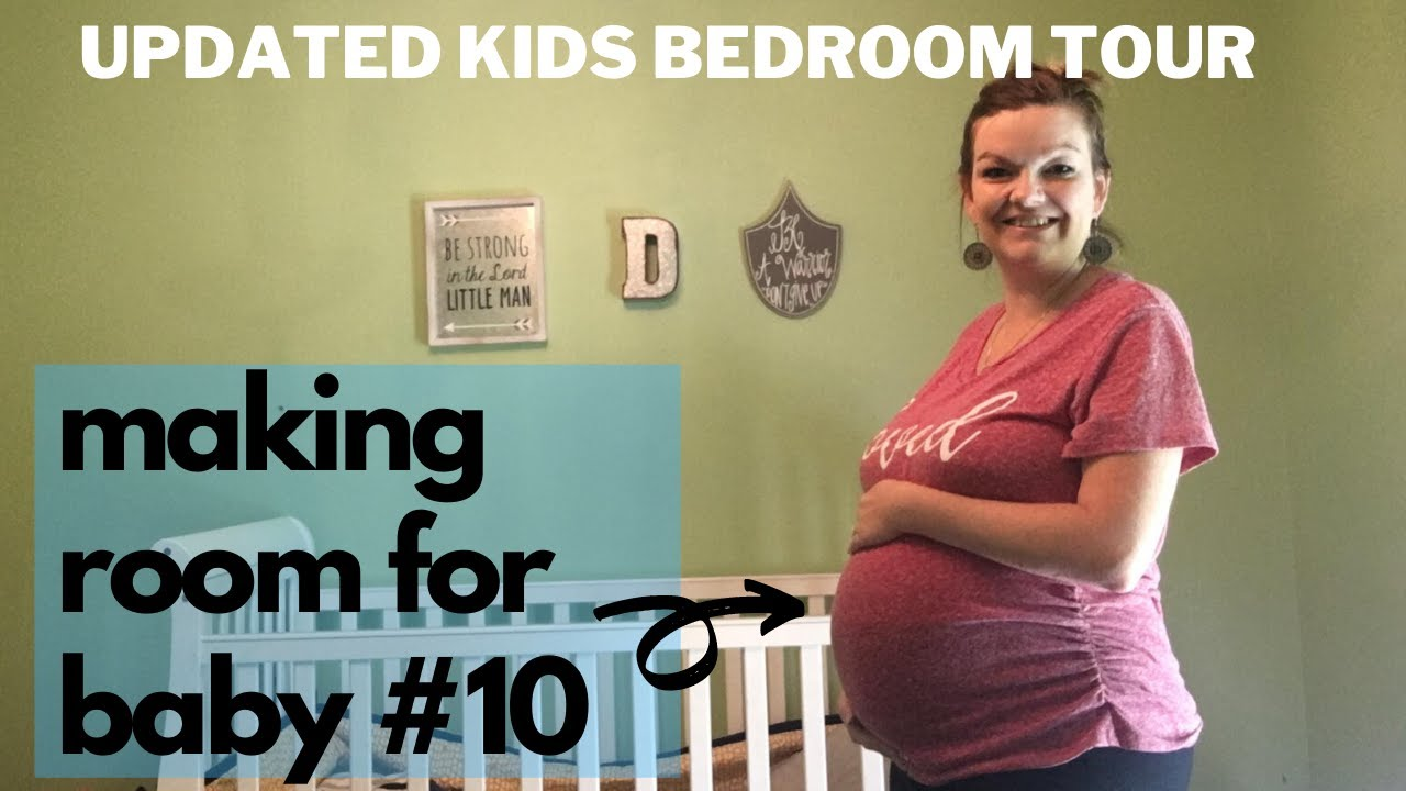Large Family House Tour Part 5 || UPDATED KIDS Bedroom Tour || Making ROOM for BABY #10