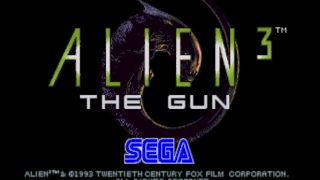 Alien 3 The Gun Arcade Longplay