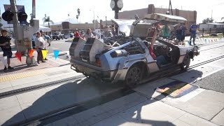 Real Life Back To The Future Time Machine!