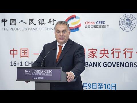 Eurázsia építéséről beszélt Orbán Viktor